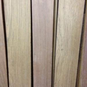 Jatoba hardwood closeup