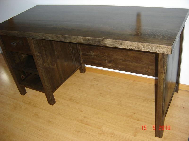 Rustic Knotty Pine Desk Refined Rustic Furniture