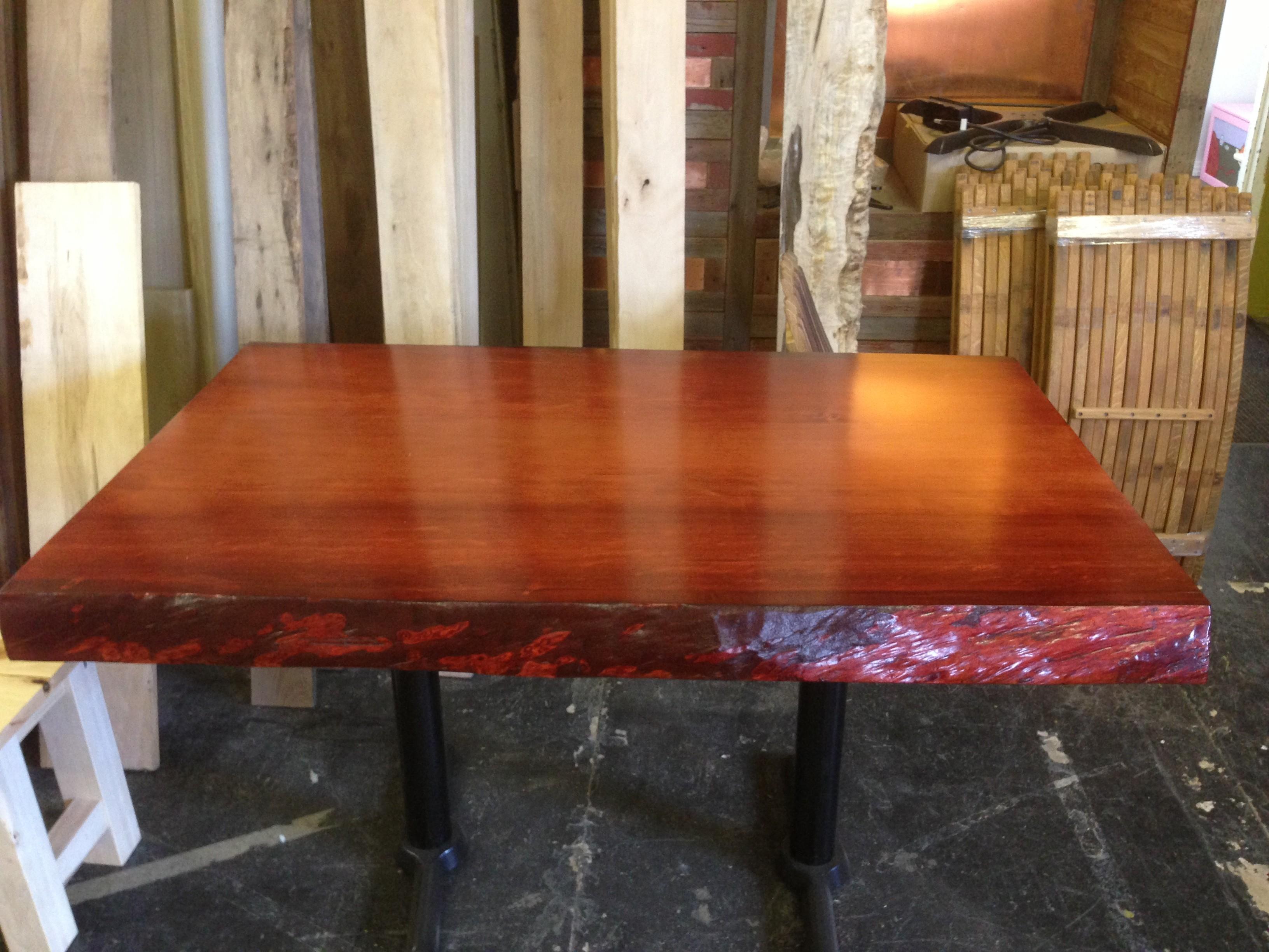 Douglas Fir Table Refined Rustic Furniture