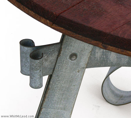 Wine Barrel Patio Furniture Refined Rustic Furniture