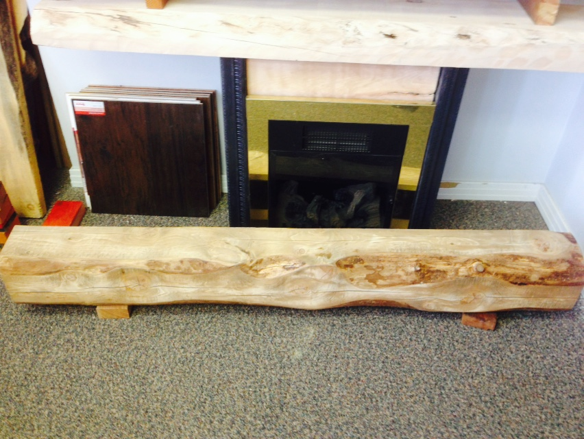 Pine Poplar Mantel Refined Rustic Furniture